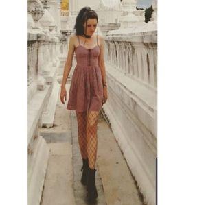 Topshop purple dress